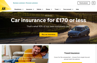 Official AA Motorcycle Insurance UK Website