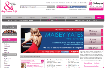 Official Mills & Boon UK Website