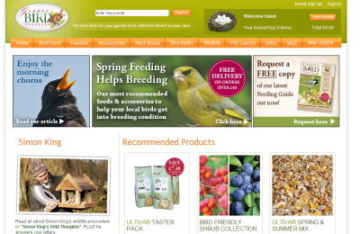 Official Garden Bird UK Website