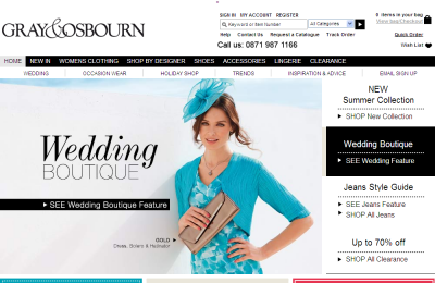 Official Gray & Osbourn UK Website