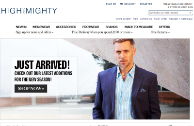 Official High and Mighty UK Website