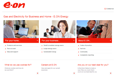 Official E.ON Energy UK Website
