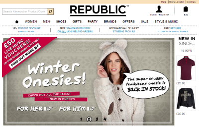 Official Republic UK Website