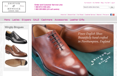 Official Shipton & Heneage UK Website