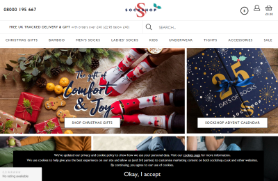 Official Sock Shop UK Website