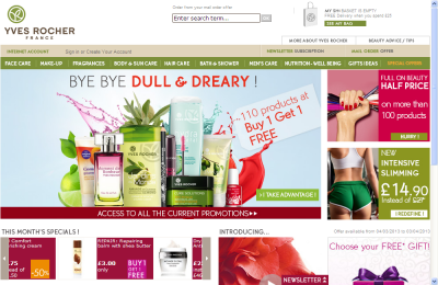 Official Yves Rocher UK Website