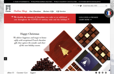 Official zChocolat UK Website